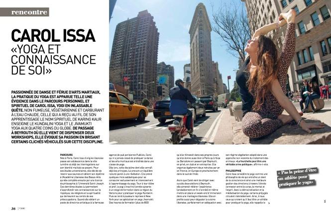 Carol Issa, Femme Magazine